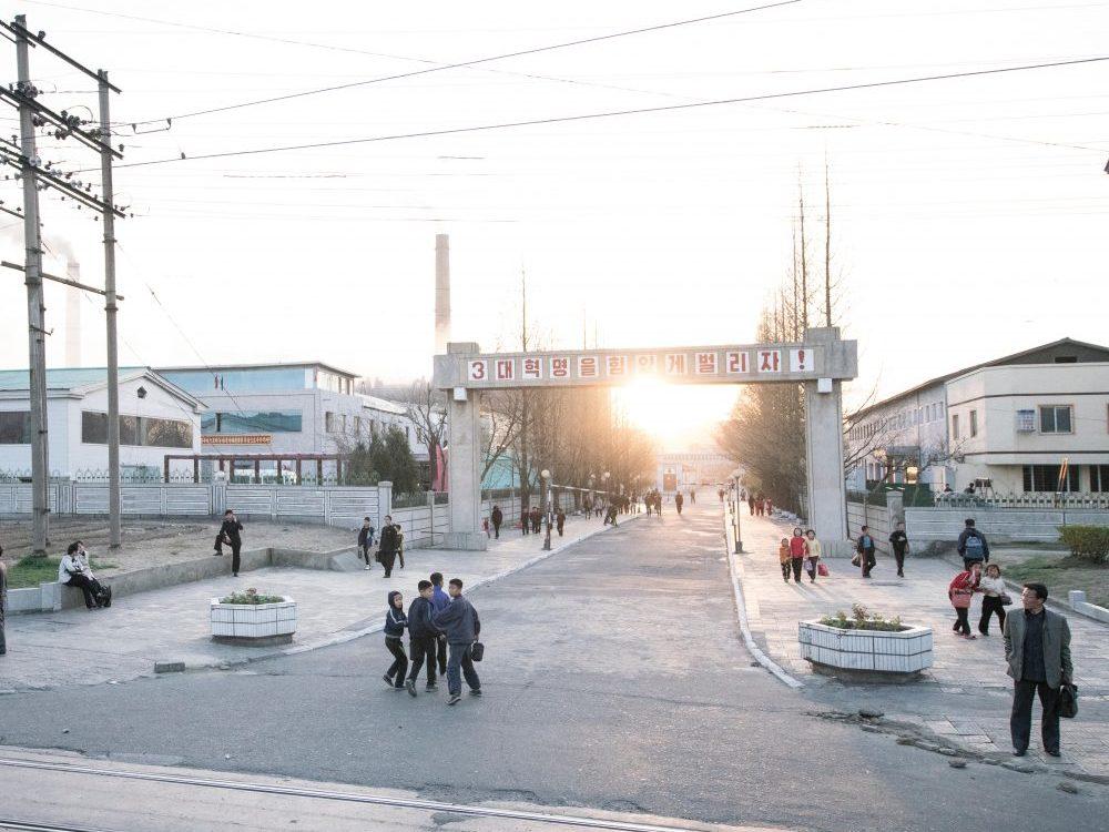 Experiencing the North Korean Border